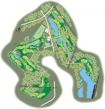 kokkolan golf yleiskartta